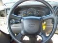 2000 Onyx Black Chevrolet Silverado 1500 LS Regular Cab 4x4  photo #33