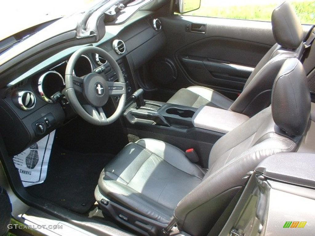 2005 Ford Mustang V6 Premium Convertible Interior Photos