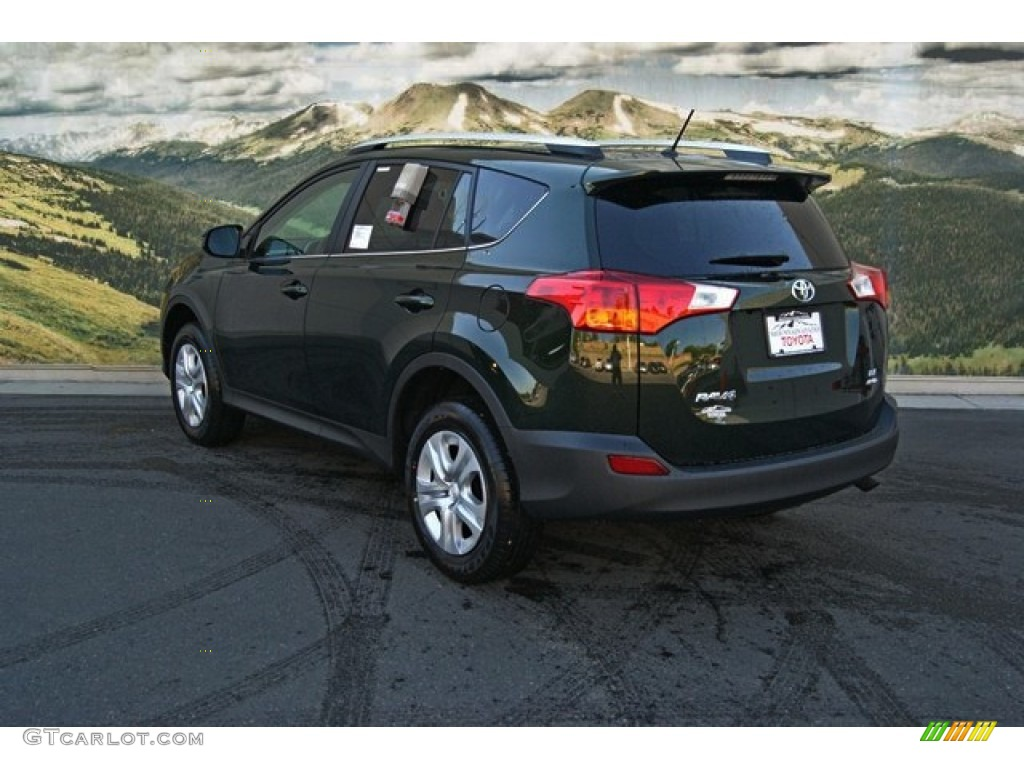 2013 spruce green mica toyota rav4 le awd 82613884 photo. Black Bedroom Furniture Sets. Home Design Ideas