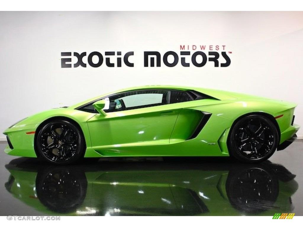 2012 verde ithaca bright green lamborghini aventador lp. Black Bedroom Furniture Sets. Home Design Ideas
