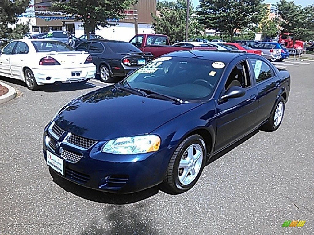 2005 midnight blue pearl dodge stratus sxt sedan 82614033. Black Bedroom Furniture Sets. Home Design Ideas