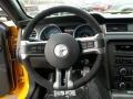 2013 Ford Mustang Charcoal Black/Recaro Sport Seats Interior Steering Wheel Photo