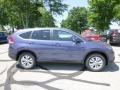 2013 Twilight Blue Metallic Honda CR-V EX AWD  photo #2