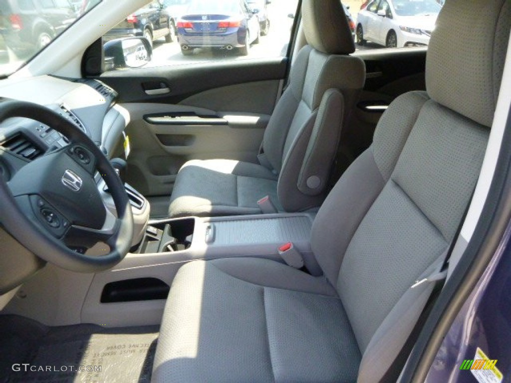2013 CR-V EX AWD - Twilight Blue Metallic / Gray photo #10