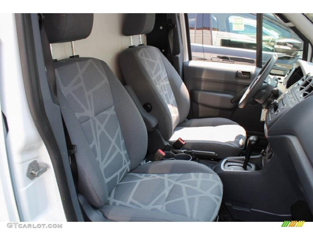 Dark Grey Interior 2012 Ford Transit Connect Xlt Van Photo 82641490