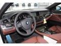 Cinnamon Brown 2013 BMW 5 Series Interiors