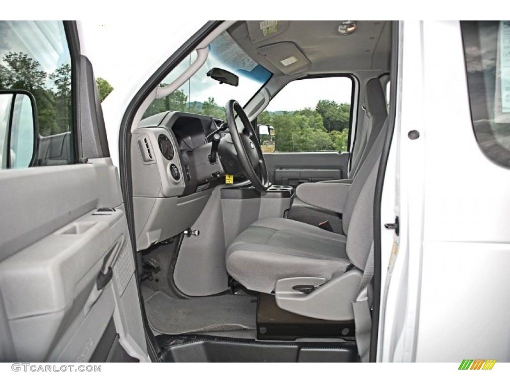 Medium Flint Interior 2011 Ford E Series Van E350 XLT Extended Passenger  Photo #82653781