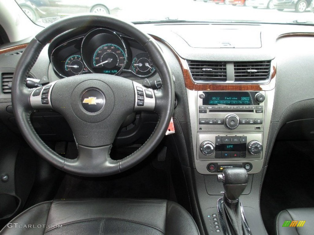 2010 Chevrolet Malibu Ltz Sedan Ebony Dashboard Photo 82655875