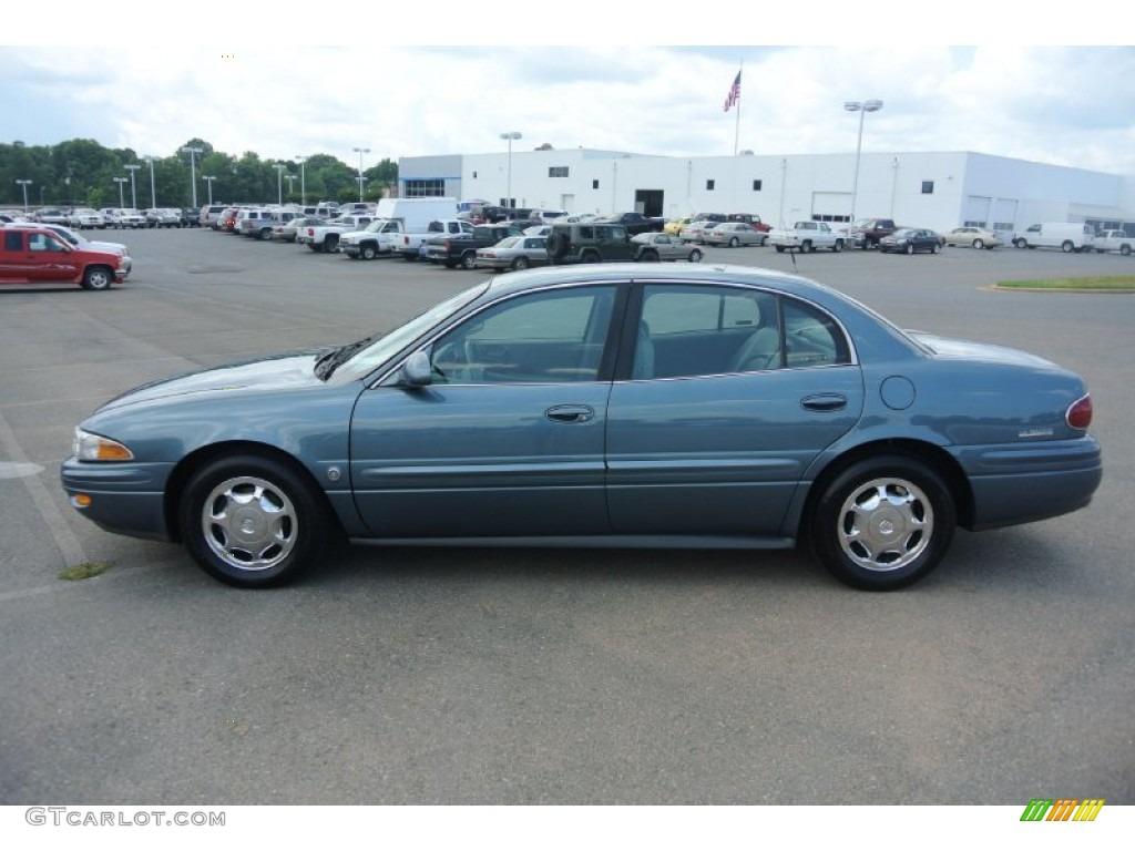 Titanium Blue Metallic 2002 Buick Lesabre Limited Exterior