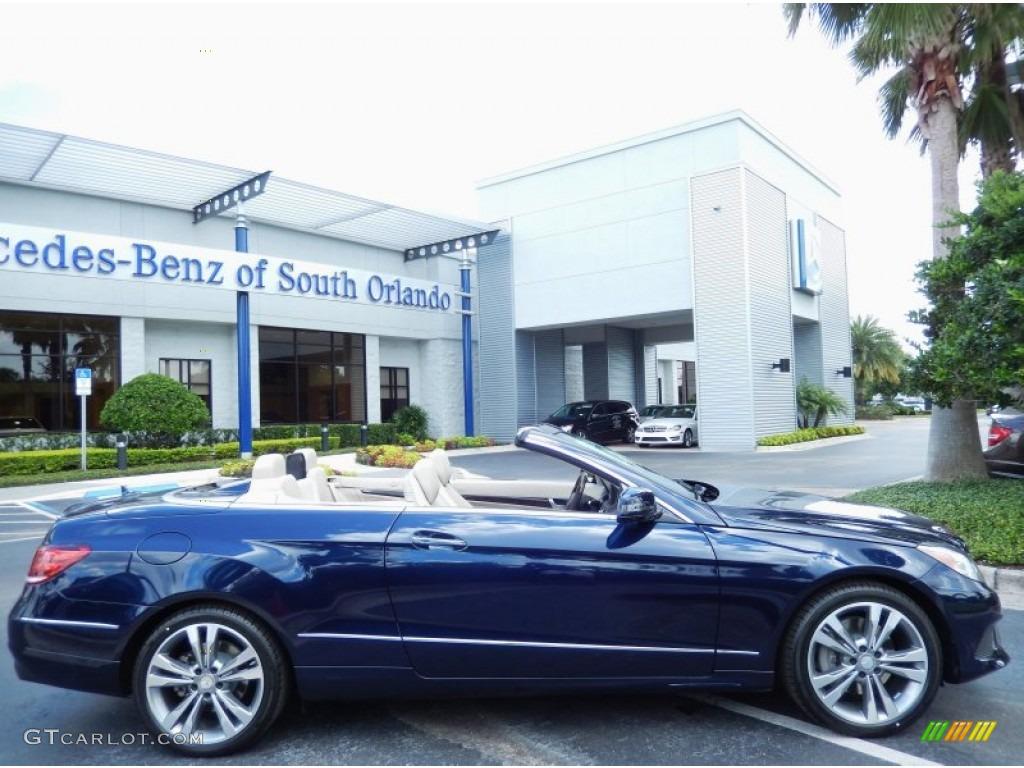 2014 Lunar Blue Metallic Mercedes-Benz E 350 Cabriolet ...