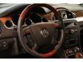 Ebony Black/Ebony Steering Wheel Photo for 2009 Buick Enclave #82674861