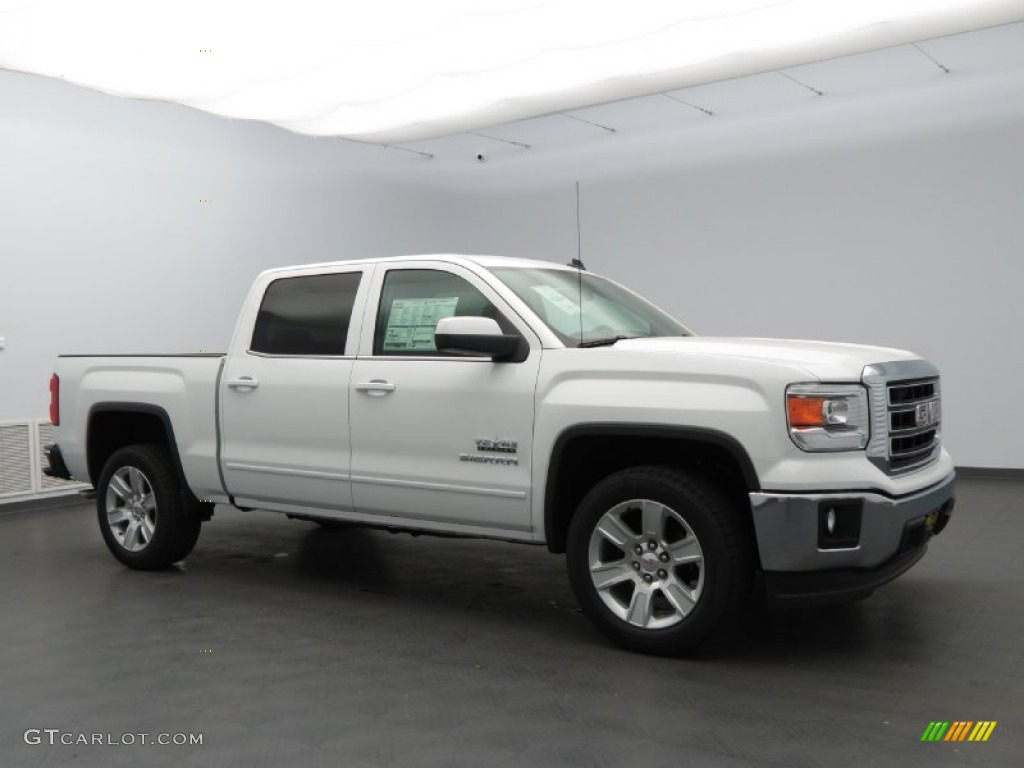 2014 summit white gmc sierra 1500 sle crew cab 82673328