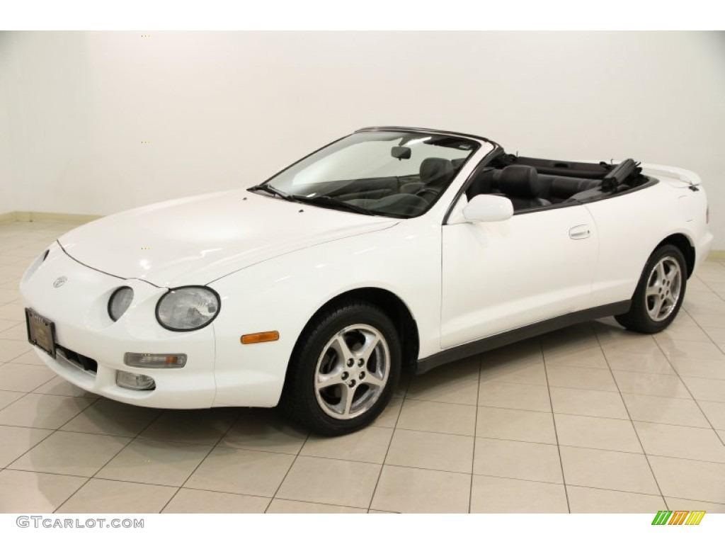 Super White 1998 Toyota Celica Gt Convertible Exterior