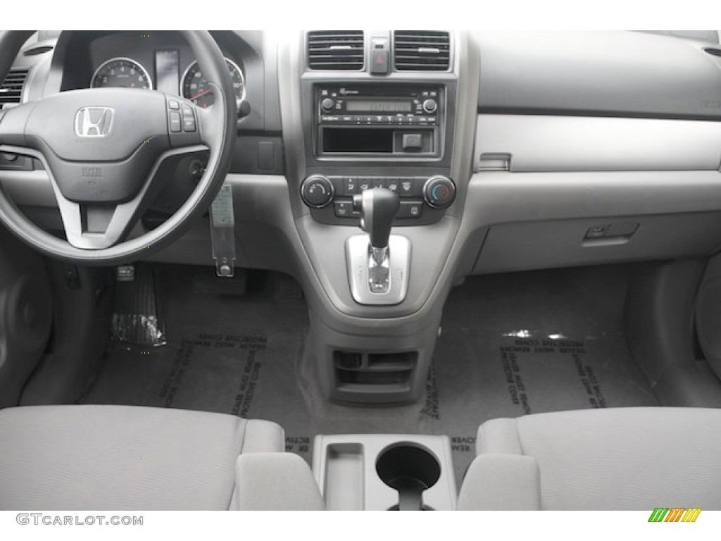 2011 Honda CR-V LX Gray Dashboard Photo #82675969