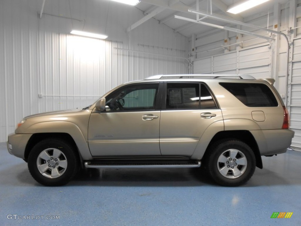 2004 dorado gold pearl toyota 4runner limited 4x4 82672649 car color galleries. Black Bedroom Furniture Sets. Home Design Ideas