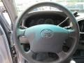 2006 Toyota Tundra Light Charcoal Interior Steering Wheel Photo