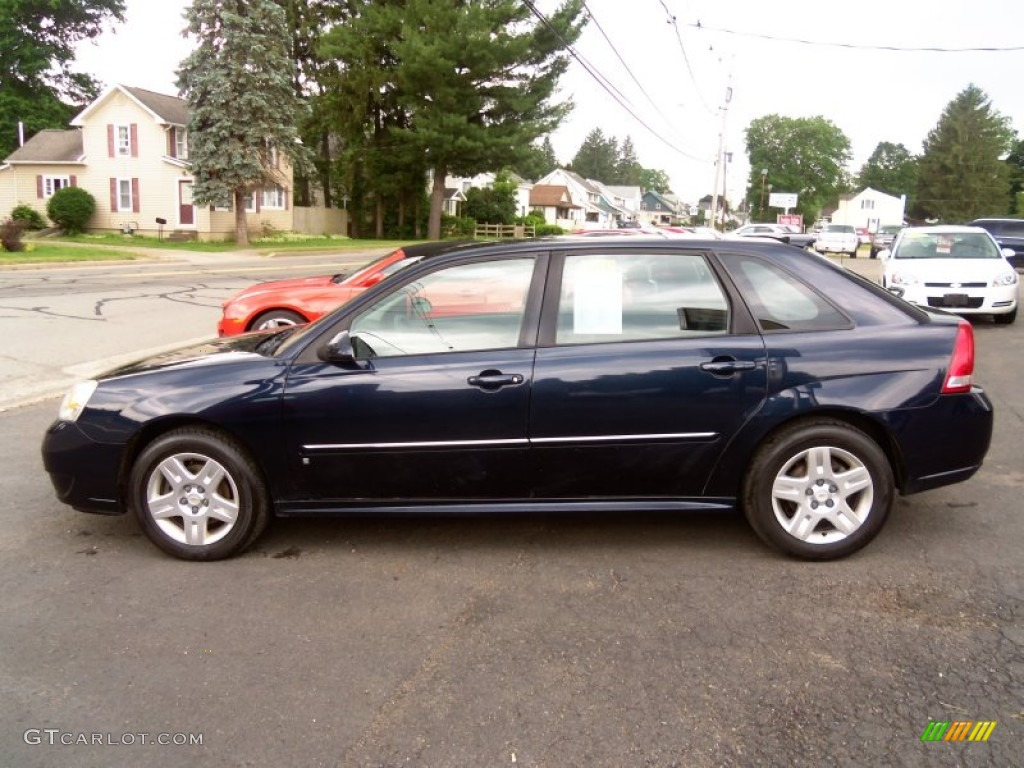 dark blue metallic 2006 chevrolet malibu maxx lt wagon. Black Bedroom Furniture Sets. Home Design Ideas