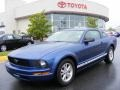 2007 Vista Blue Metallic Ford Mustang V6 Deluxe Coupe  photo #1