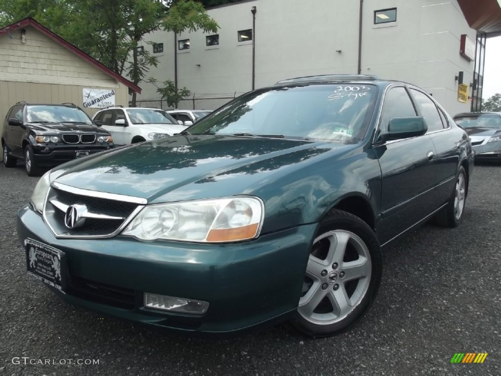 Noble green pearl acura tl