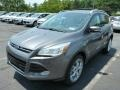 2014 Sterling Gray Ford Escape Titanium 2.0L EcoBoost 4WD  photo #5
