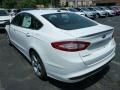 2013 Oxford White Ford Fusion SE 1.6 EcoBoost  photo #4