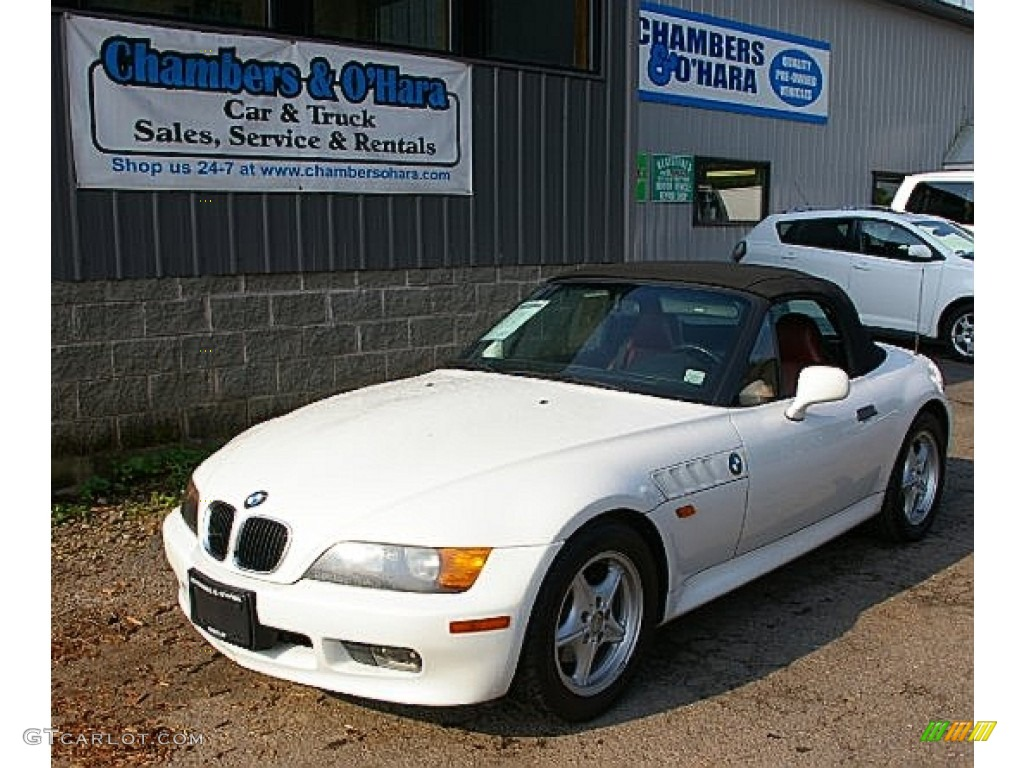 1997 Alpine White Bmw Z3 1 9 Roadster 82672820 Photo 2