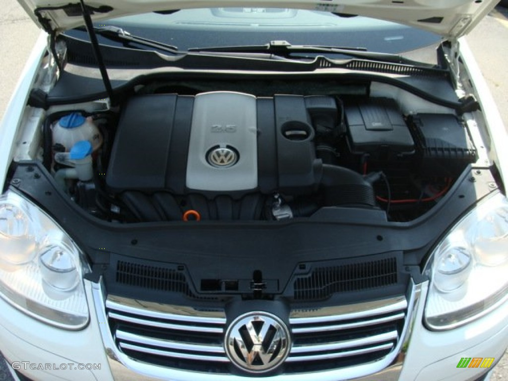 2007 Volkswagen Jetta Wolfsburg Edition Sedan Engine