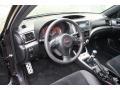 2011 Subaru Impreza STI  Black/Alcantara Interior Prime Interior Photo