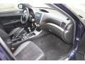 2011 Subaru Impreza STI  Black/Alcantara Interior Interior Photo