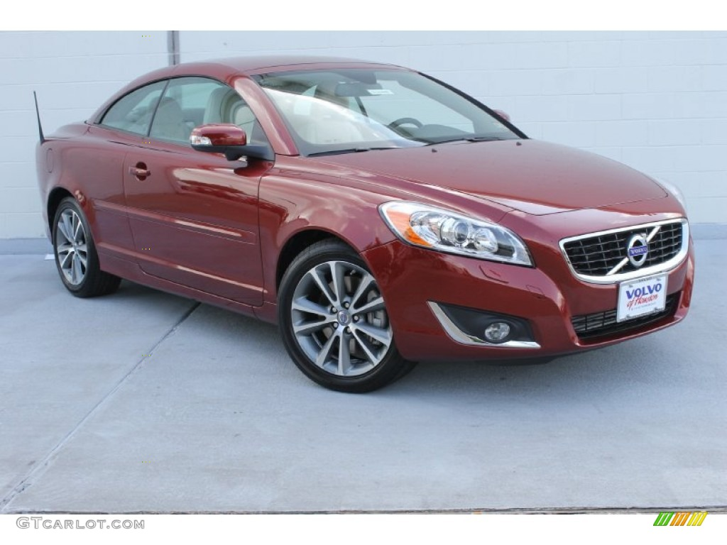 2013 flamenco red metallic volvo c70 t5 82673246 car color galleries. Black Bedroom Furniture Sets. Home Design Ideas