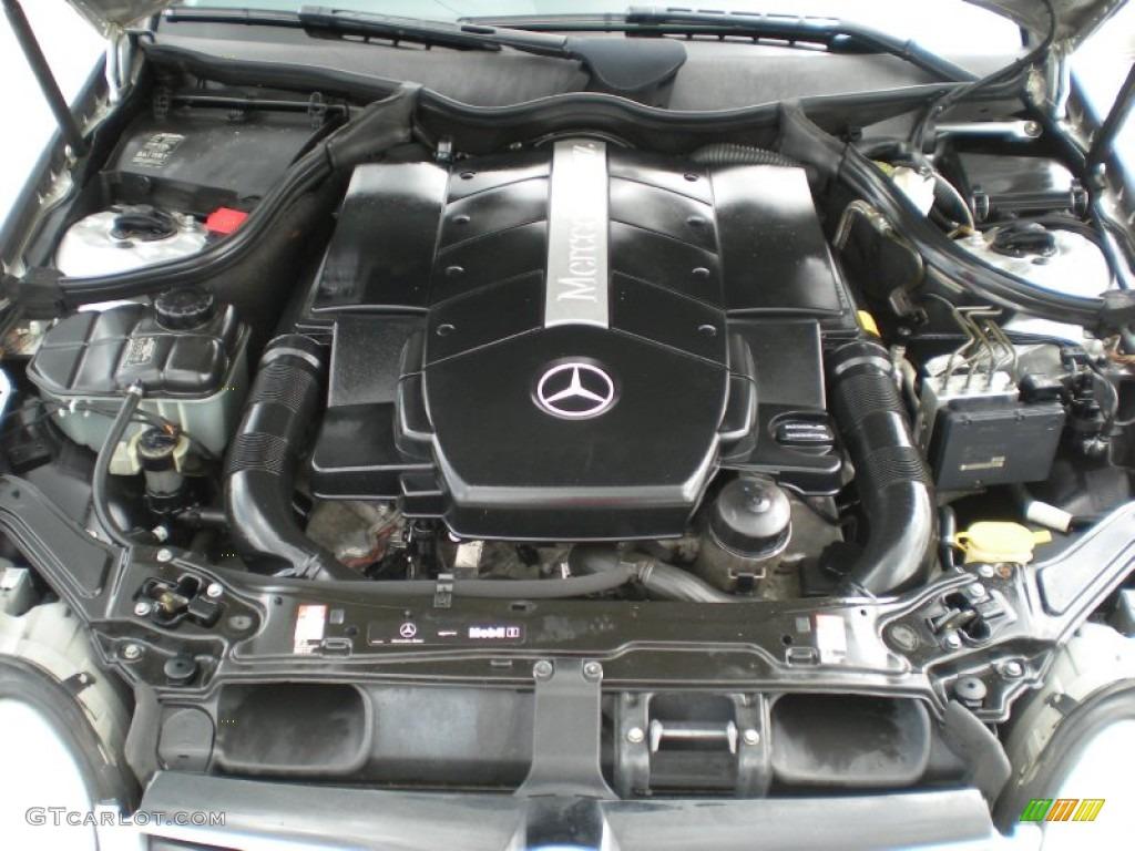 2004 mercedes benz clk 500 coupe 5 0 liter sohc 24 valve for Mercedes benz v8 engine