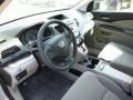 2013 Alabaster Silver Metallic Honda CR-V LX AWD  photo #15