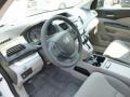 2013 White Diamond Pearl Honda CR-V LX AWD  photo #15