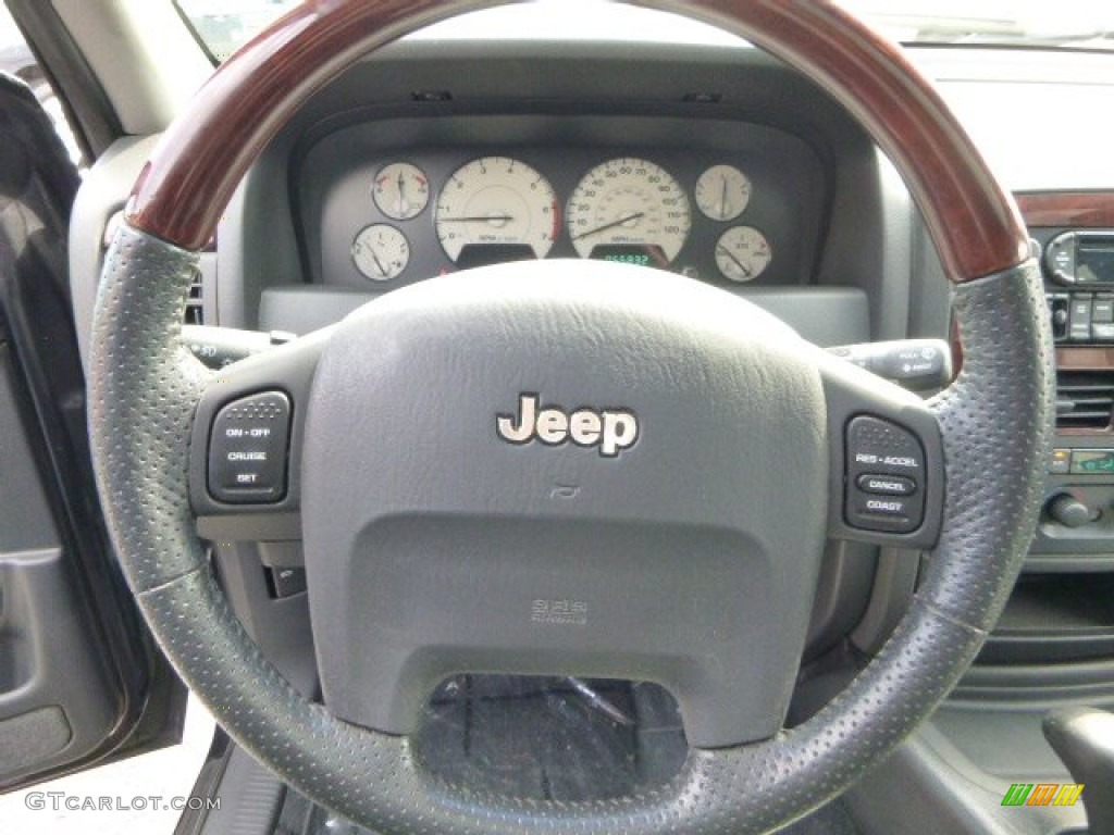 2004 jeep grand cherokee overland 4x4 steering wheel. Black Bedroom Furniture Sets. Home Design Ideas