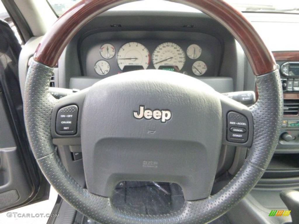 2004 jeep grand cherokee overland 4x4 steering wheel. Black Bedroom Furniture Sets. Home Design Ideas