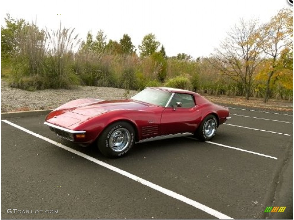 1971 corvette stingray coupe mille miglia red black photo 1. Cars Review. Best American Auto & Cars Review