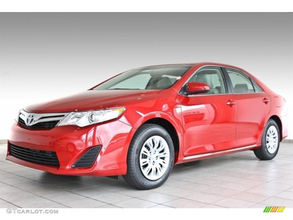 barcelona red metallic 2013 toyota camry le exterior photo 82737280. Black Bedroom Furniture Sets. Home Design Ideas