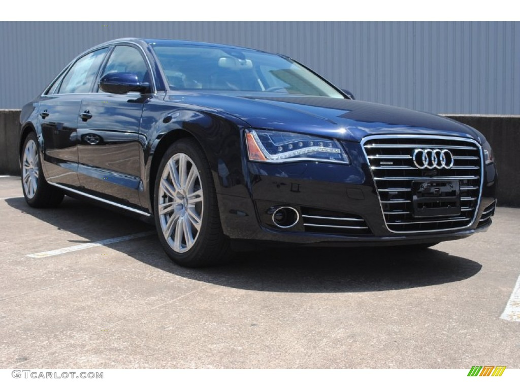 2014 Night Blue Pearl Effect Audi A8 L Tdi Quattro