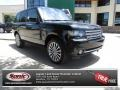 Santorini Black Metallic 2012 Land Rover Range Rover Supercharged