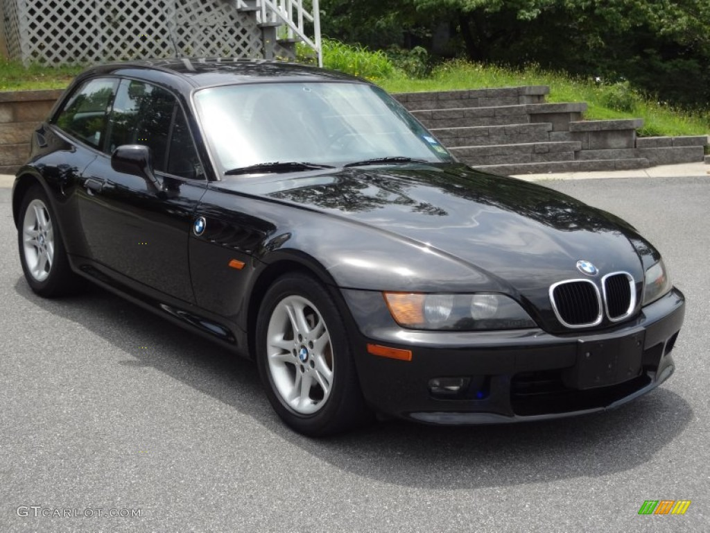 Jet Black 1999 Bmw Z3 2 8 Coupe Exterior Photo 82748243
