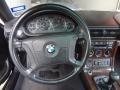 1999 BMW Z3 Black Interior Steering Wheel Photo