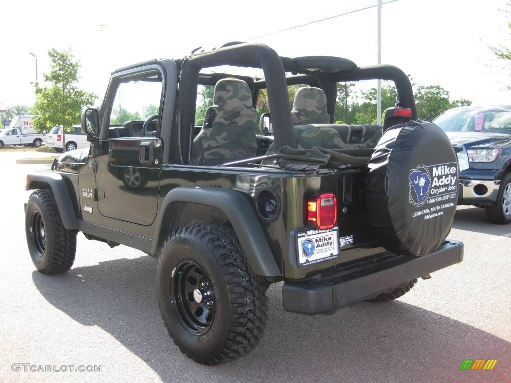 2005 jeep willys edition