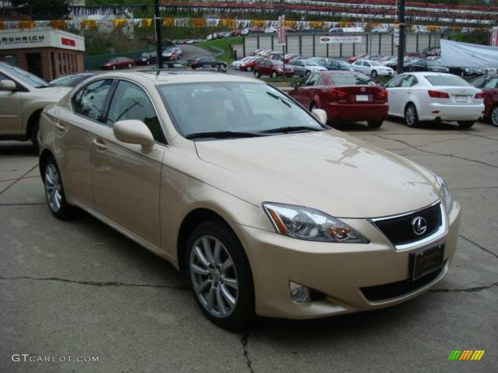 2008 golden almond metallic lexus is 250 awd 8252370. Black Bedroom Furniture Sets. Home Design Ideas