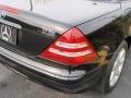2001 Black Mercedes-Benz SLK 230 Kompressor Roadster  photo #8