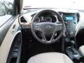 Beige Dashboard Photo for 2013 Hyundai Santa Fe #82777502