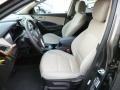 Beige Front Seat Photo for 2013 Hyundai Santa Fe #82777527
