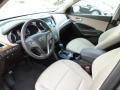 Beige Prime Interior Photo for 2013 Hyundai Santa Fe #82777545