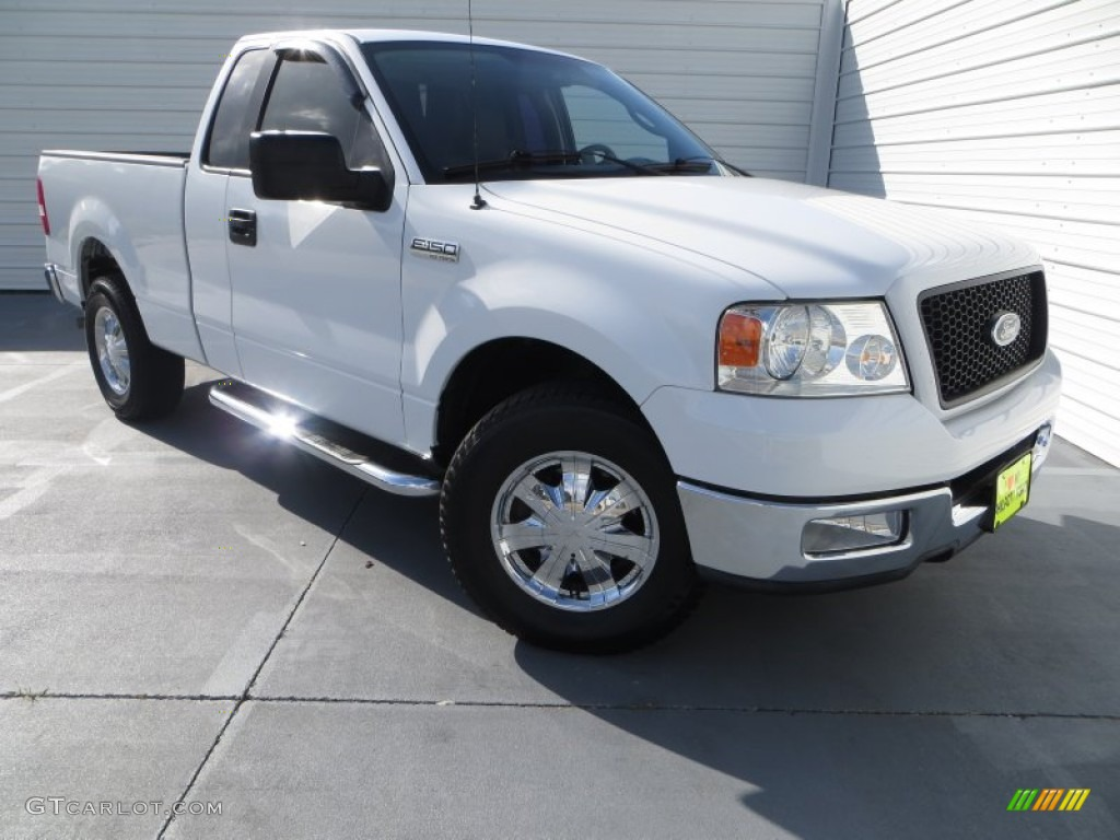 2004 oxford white ford f150 xlt regular cab 82732035. Black Bedroom Furniture Sets. Home Design Ideas