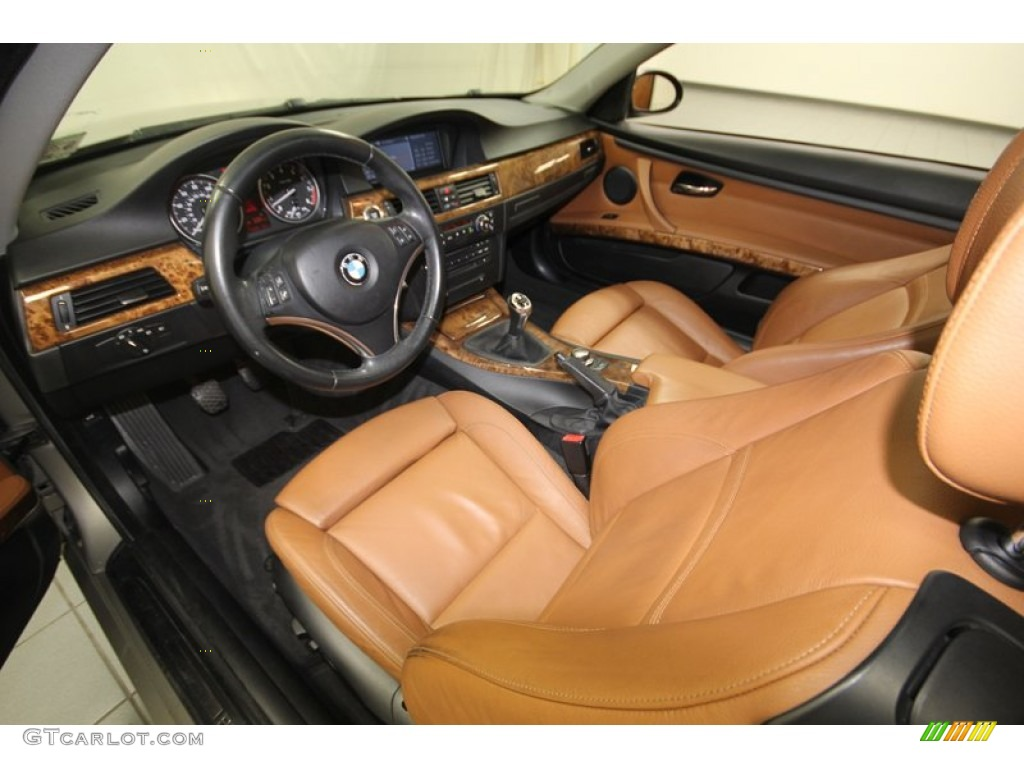 Saddle Brown/Black Interior 2007 BMW 3 Series 328i Coupe Photo #82784589