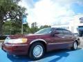 Autumn Red Metallic 2000 Lincoln Town Car Executive